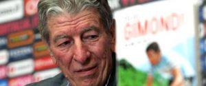 L'ex campione di ciclismo Felice Gimondi