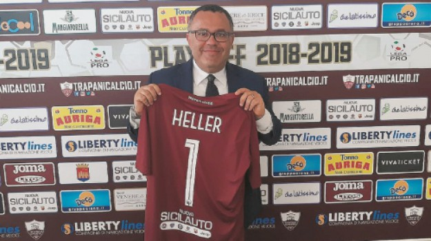 trapani calcio, Giorgio Heller, Trapani, Calcio