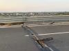 Salta la giuntura di un ponte sulla statale Agrigento-Caltanissetta: danni ad auto