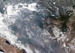 Incendi in Amazzonia, le immagini aeree delle zone devastate Paura in Brasile - Agenzia Vista/Alexander Jakhnagiev
