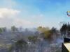 Incendio a Castiglione di Sicilia, a fuoco 20 ettari di terreno