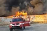 Incendio a Vittoria, si sospetta la pista dolosa