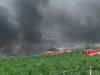 Incendio a San Giuseppe Jato, fiamme nell'isola ecologica: il video
