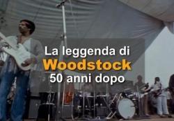 La leggenda di Woodstock 50 anni dopo Il 15 agosto 1969, esattamente 50 anni fa, la cittadina di Bethel, nello Stato di New York, ospitava il più grande festival musicale di tutti i tempi - Ansa