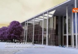 Le geometrie di Raoul De Keyser al museo d'arte moderna di Monaco La mostra di opere del pittore belga Raoul De Keyser (1930–2012) - Agenzia Vista/Alexander Jakhnagiev