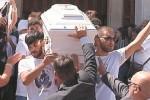 Incidente stradale a Siracusa, l'ultimo saluto a Paolo Munafò