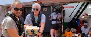 Richard Gere a bordo della Open Arms