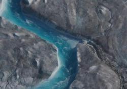 Riscaldamento globale: le immagini della Groenlandia che si