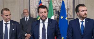 """Consultazioni, Salvini: """"Manovra Pd-M5S sconcertante, siamo al Monti bis"""""""