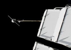 Soyuz, riuscito l'aggancio della navetta alla Stazione Spaziale A bordo il cosmonauta robot Fyodor - Ansa