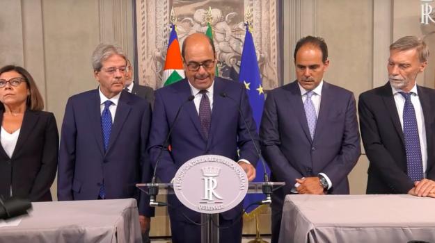 Crisi, Giuseppe Conte, Nicola Zingaretti, Sicilia, Politica