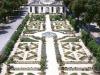 I giardini della Uccelleria della  Galleria Borghese