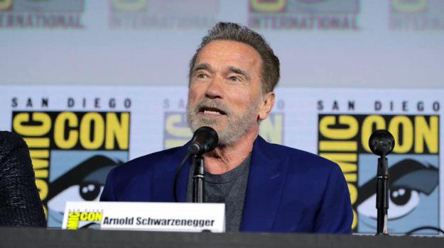 USA, Arnold Schwarzenegger, Sicilia, Mondo
