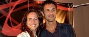Chiara Giordano e Raoul Bova prima della separazione