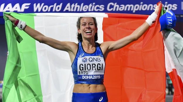 atletica, Eleonora Giorgi, Sicilia, Sport