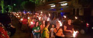 Palermo ricorda don Pino Puglisi, in centinaia alla fiaccolata