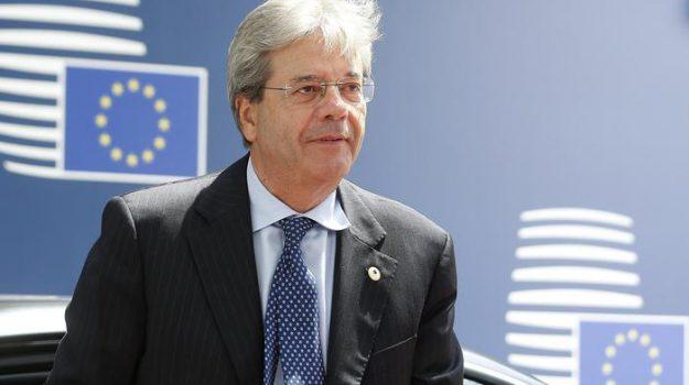 commissione europea, Paolo Gentiloni, Sicilia, Politica