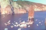 """A Lipari oltre 100 imbarcazioni per lo """"Sposalizio dei Faraglioni"""""""
