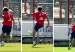 Bayern, Javi Martinez incanta con il gol di esterno Uno dei colpi più difficili e scenografici per un calciatore, ma semplice per Javi Martinez - Dalla Rete