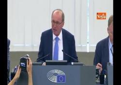BCE, via libera dal Parlamento europeo alla nomina di Lagarde L'ok dall'Eurocamera alla nomina di Lagarde alla Bce - Agenzia Vista/Alexander Jakhnagiev