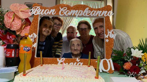 centenari, Lucia Ballì, Sicilia, Cronaca