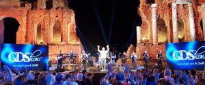 A Taormina di scena il GDShow: oltre 4mila spettatori al teatro antico