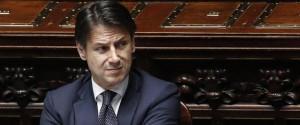 Il presidente del Consiglio Giuseppe Conte alla Camera