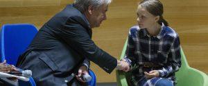 """Summit Onu sul clima, Greta: """"Noi giovani siamo inarrestabili"""""""
