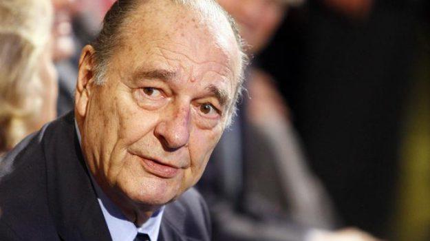 Lutto, Jacques Chirac, Sicilia, Mondo