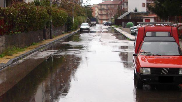 Maltempo a Catania
