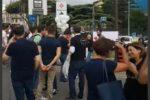 """Padri separati in piazza a Messina, """"Il nostro cuore come quello di mamma"""""""