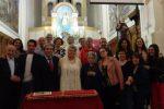 I 25 anni di matrimonio Joe e Rosmary Cantali a Cesarò
