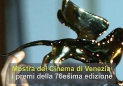 Mostra del Cinema di Venezia, i premi della 76esima edizione Joker di Todd Phillips vince il Leone d'oro, a Luca Marinelli la Coppa Volpi maschile - Ansa