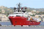 La nave Ocean Vinking