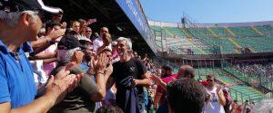 Il presidente Dario Mirri in tribuna