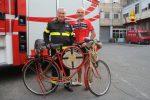 Da Treviso a Messina in bicicletta per gli 80 anni dei Vigili del fuoco
