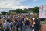 Messina, protesta degli studenti contro i test di ingresso