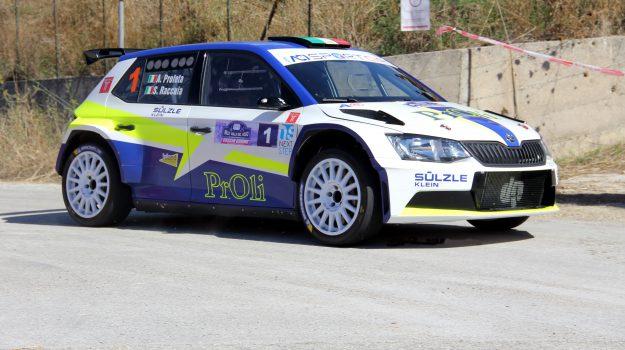 rally, Alessio Profeta, Mimmo Guagliardo, Sandro Failla, Sergio Raccuia, Sicilia, Sport