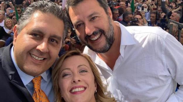 fratelli d'italia, governo, Lega, Giorgia Meloni, Giuseppe Conte, Matteo Salvini, Sicilia, Politica