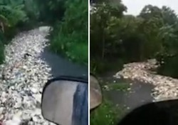 Un fiume di plastica a Santo Domingo, i rifiuti navigano verso il mare: l'accorata denuncia di un cittadino Tonnellate di immondizia nel fiume Lebron: le immagini mostrano lo scempio ambientale - Corriere Tv