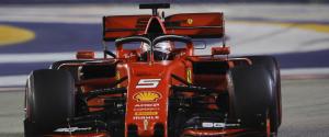 Doppietta Ferrari a Singapore: Vettel davanti Leclerc, quarto Hamilton