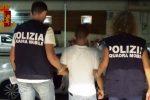 Il 26enne fermato dalla polizia