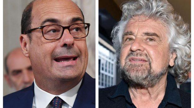 governo, Beppe Grillo, Nicola Zingaretti, Sicilia, Politica