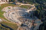 Il Teatro Greco di Siracusa visto dall'alto