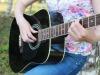 Nanocorde simili a quelle di una chitarra, ma in grado di suonare da sole, per i microscopi del futuro (fonte: Lancaster University)