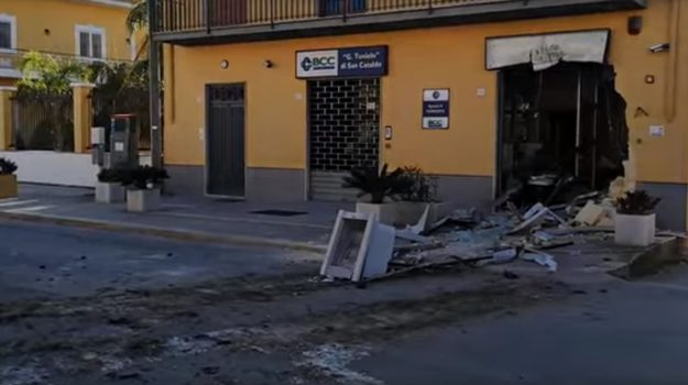 banca, rapina, Trapani, Cronaca