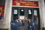 Alcol a 16enne e occupazione abusiva di suolo pubblico, chiuso un locale a Catania
