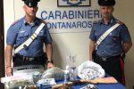 Sequestro di armi e droga a Catania, due arresti