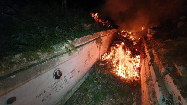 incendio, Messina, Cronaca