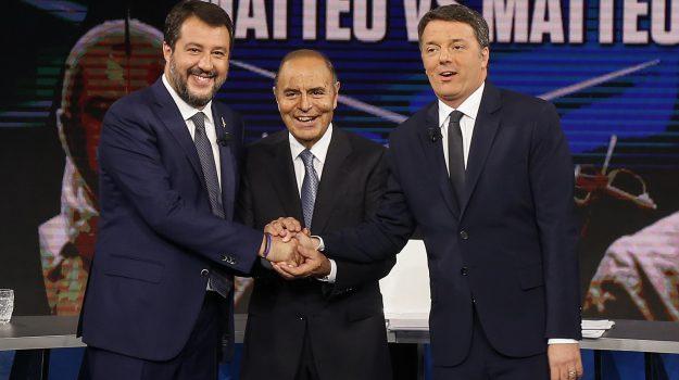 Italia Viva, Lega, tv, Matteo Renzi, Matteo Salvini, Sicilia, Politica